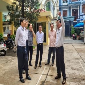 Thứ trưởng Nguyễn Hoàng Hiệp đến thăm và làm việc với Viện Quy hoạch Thủy lợi Miền Nam