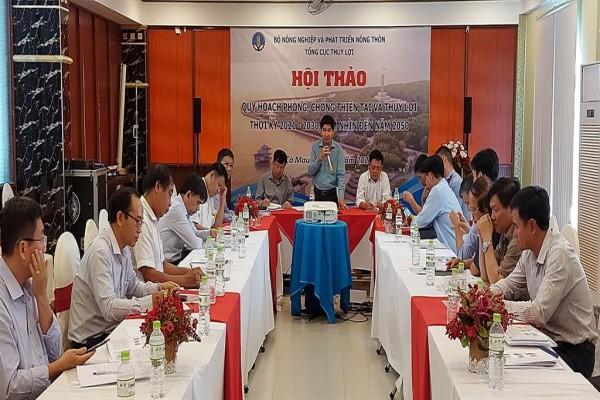 Hội thảo lấy ý kiến cho Quy hoạch phòng, chống thiên tai và thủy lợi thời kỳ 2021-2030, tầm nhìn đến năm 2050 (Vùng Đồng bằng sông Cửu Long)